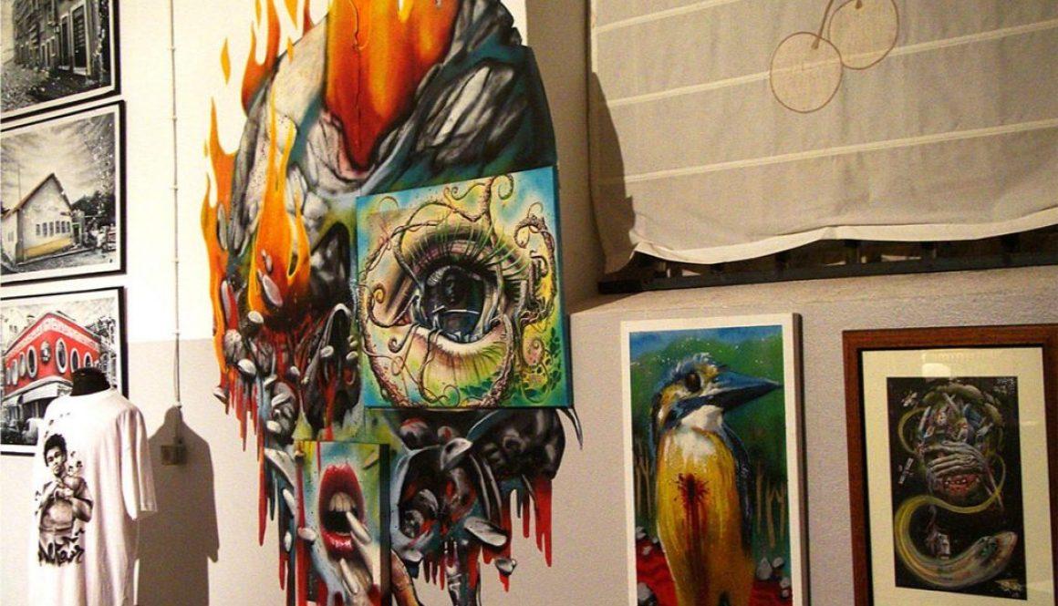 exhibition private art