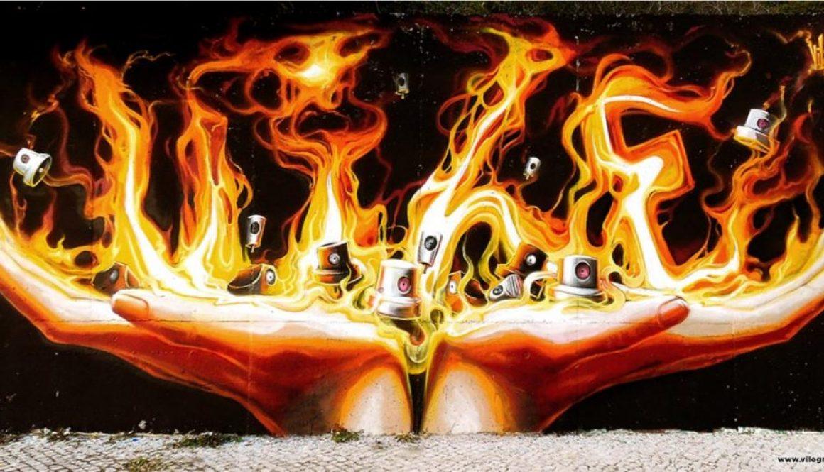 burning caps