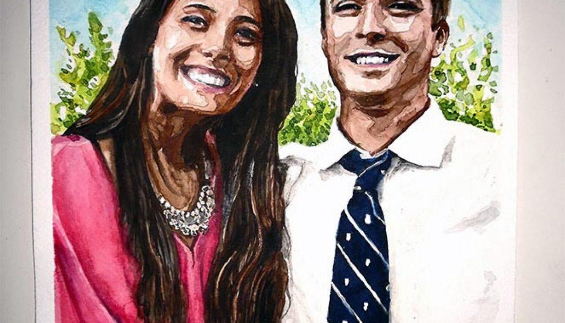Portrait – Pedro & Raquel