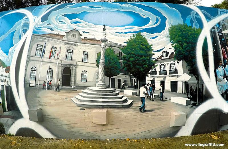 2016_VILE_Mural_da_Cidade_Vila_Franca_de_Xira_Largo_da_Camara_