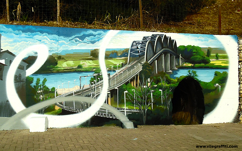 2016_VILE_Mural_da_Cidade_Vila_Franca_de_Xira_Ponte_sobre_o_Tejo_Marechal_Carmona