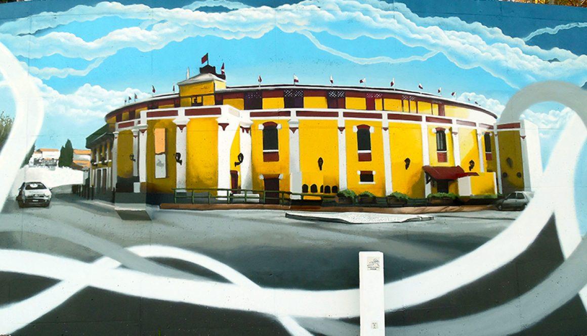 Mural da Cidade Vila Franca de Xira – Praça de touros Palha Blanco