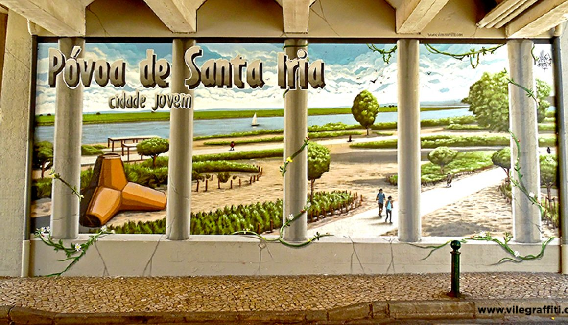 Homenagem à zona ribeirinha da Póvoa de Santa Iria