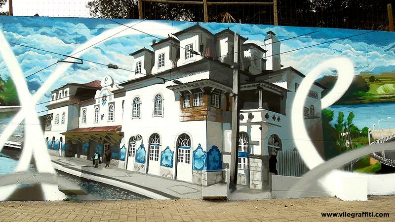 2016_VILE_Mural_da_Cidade_Vila_Franca_de_Xira_Estação_de_comboios_