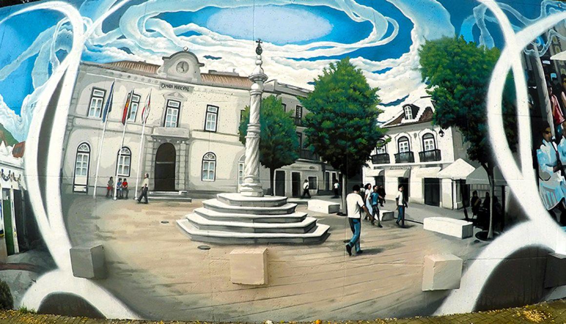 Mural da Cidade Vila Franca de Xira – Largo da Camara